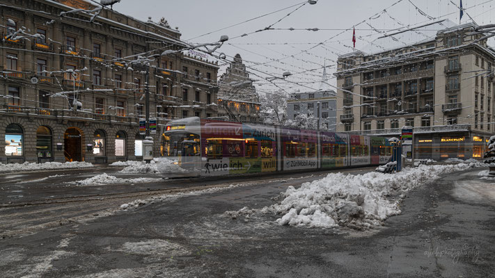 16.01.2021 - Zürich - Winterwonderland - Zürich im Schnee