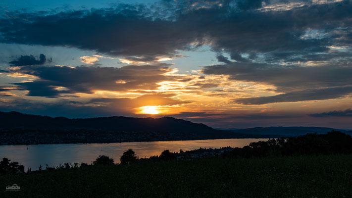 14.07.2018 Schweiz - Herrliberg - Sonnenuntergang