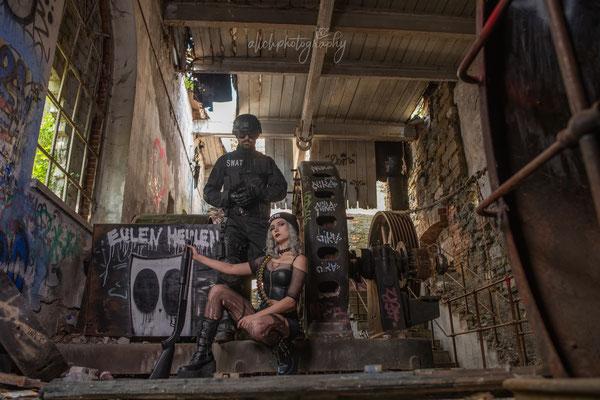 16.05.2019 - Shooting mit Desy und Danny - SWAT vs. PunkGirl - LostPlaces Schweiz