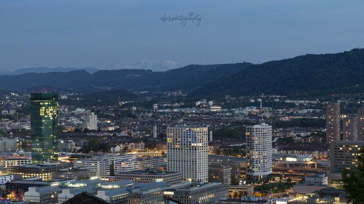 07.05.2020 - Zürich - Ausblick über die Stadt (Waid)