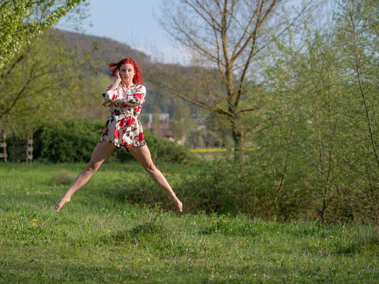 19.04.2019 - Shooting in Brugg - Model / Dancer: Moira - Outdoor Tanzshooting