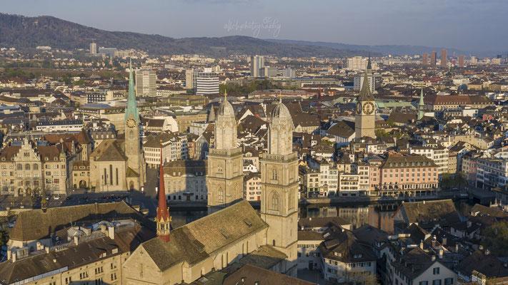 12.04.2020 Zürich - Fraumünster, Grossmünster, St. Peter