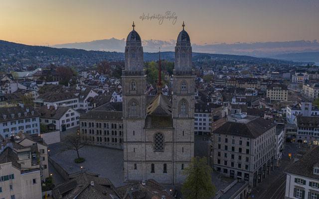 12.04.2020 Zürich - Grossmünster