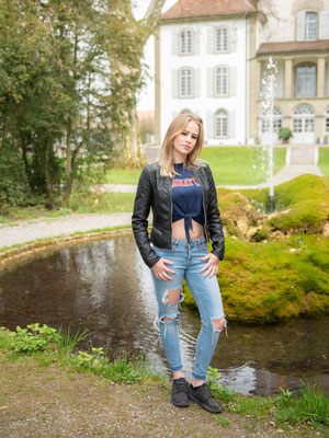15.04.2018 - Shooting mit Aischa - Schlosspark Jegenstorf