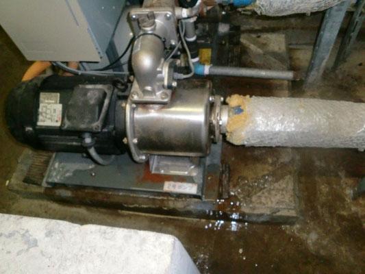 給水設備の現場検証@菱和パレス中目黒/株式会社クレアスコミュニティー