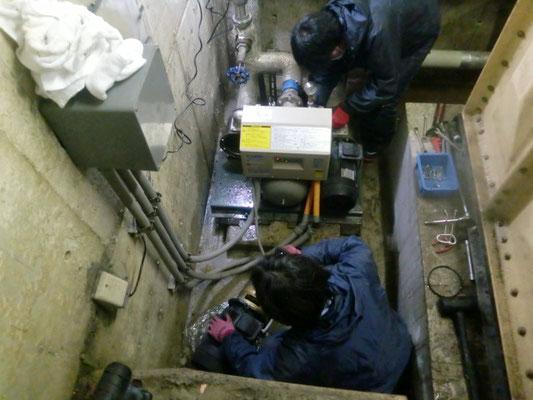 給水ポンプ修理修了@菱和パレス中目黒/株式会社クレアスコミュニティー