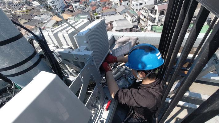立ち合い/アンテナの屋外整流器の交換工事@菱和パレス中目黒管理組合ブログ