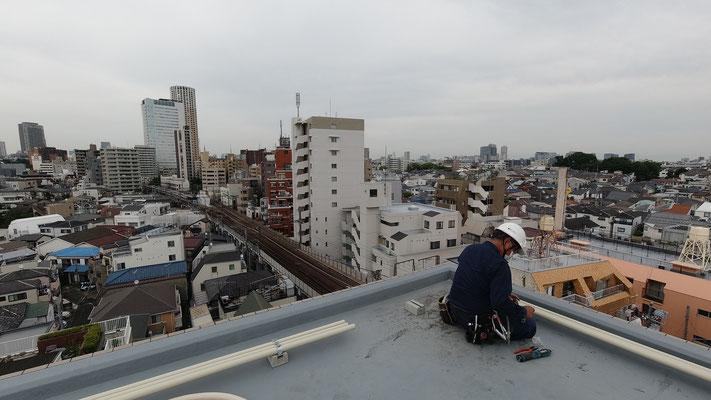 楽天モバイル基地局工事開始@菱和パレス中目黒管理組合ブログ
