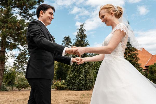 Hochzeit First Look in Heemsen