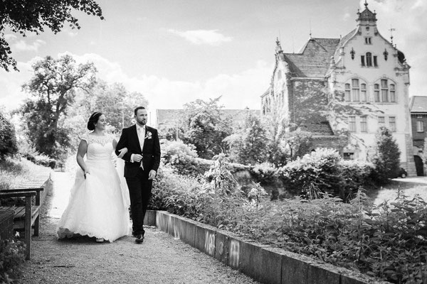 Brautpaarshooting Schloss Landestrost in Neustadt am Rübenberge