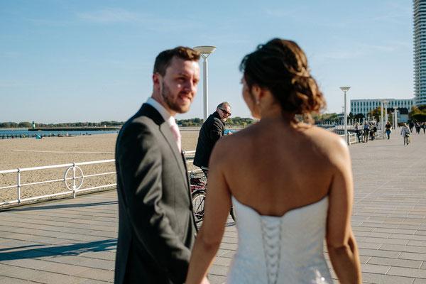 Hochzeit Strand Villa Mare Travemünde
