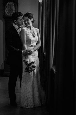 Hochzeitsfoto Brautpaar Standesamt Celle