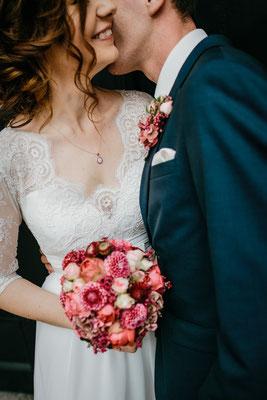 Hochzeitsfoto Brautpaar Residenzschloss Celle