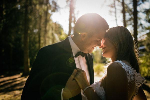 Hochzeitsfoto Brautpaar Park Hotel Heide Kröpke