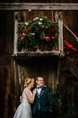 Hochzeitsfoto Brautpaar Theeshof Schneverdingen