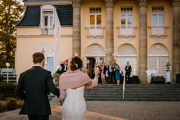 Hochzeitsfoto Villa Mare Travemünde