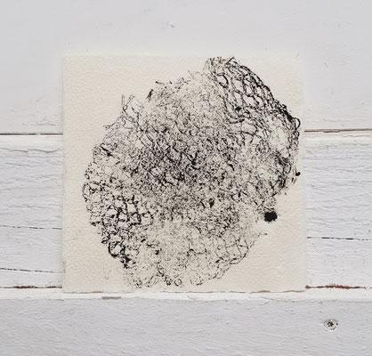 Monotypie / monotype 15 x 15 cm