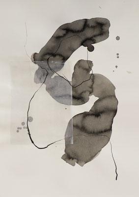 Tusche auf Papier / ink on paper 30 x 40 cm