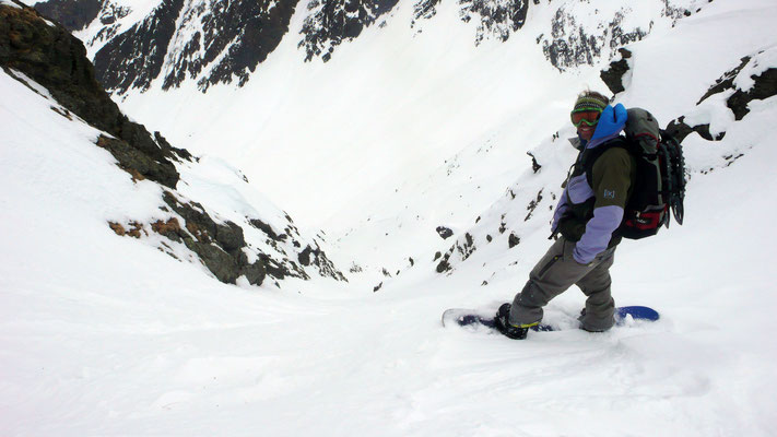 Snowboardtour Sonnenkopf