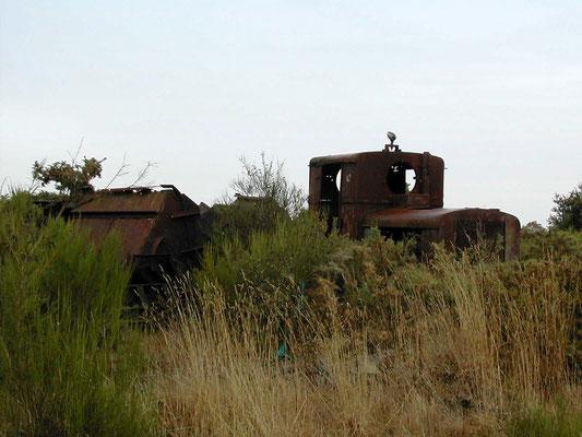 Vestige du petit train qui passait par la Forge Neuve