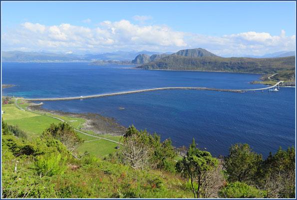 Zufahrt zur Insel Runde