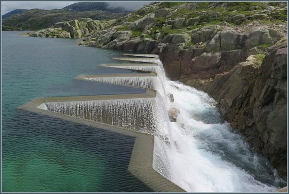 Wasserüberlauf