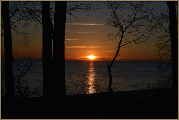Sonnenuntergang Lettland