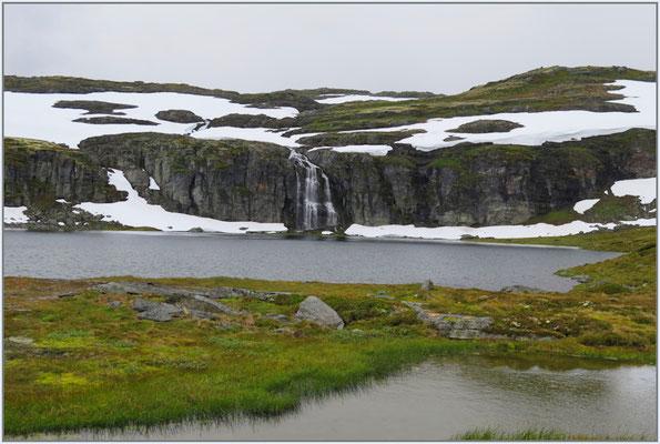 Wasserfall auf über 1100 müM
