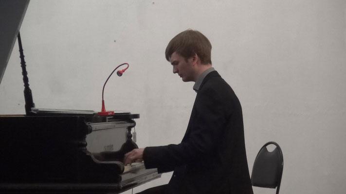 Арсений Пирожков, пианист