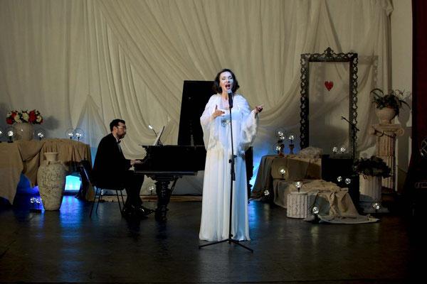 Ольга Москвина. Концерт #Белая полоса в Доме Шрёдера