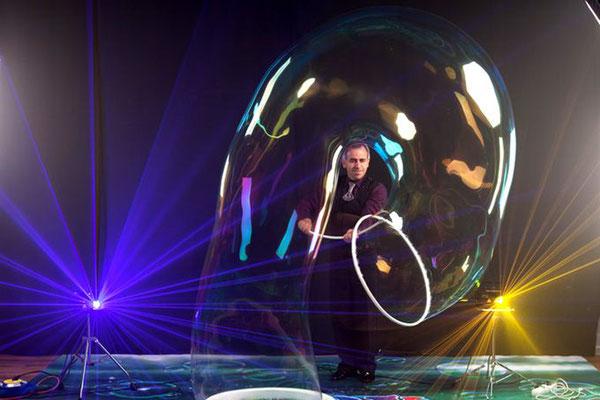 """Олег Желков. Фееричное и волшебное """"Шоу мыльных пузырей"""""""