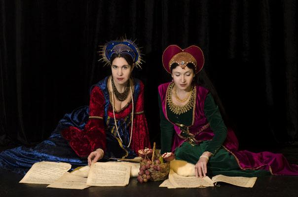 Наталья Савостьянова – сопрано и Дарья Ротаст - меццо-сопрано
