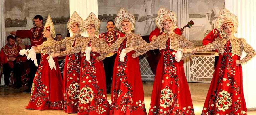 Русский вечер. Прием в николаевском дворце
