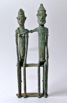 Dogon-Paar, Bronze/Mali