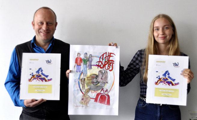Kunstwettbewerb Isabel Reimer, Kunstlehrer W. Bohns