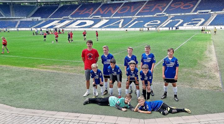 Betroffen ist auch die Fußball-AG, mit der die Schule seit Jahren am Eddi-Cup von Hannover 96 teilnimmt.