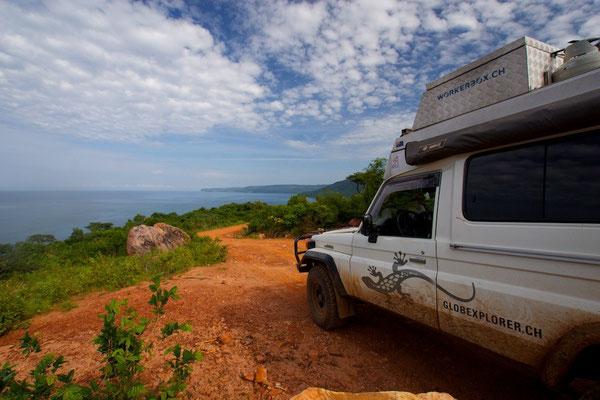 Auf dem Weg zum Tanganyika See