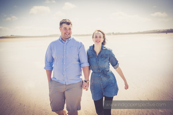 Westward Ho! Engagement Photo Session North Devon | Indigo Perspective Photography