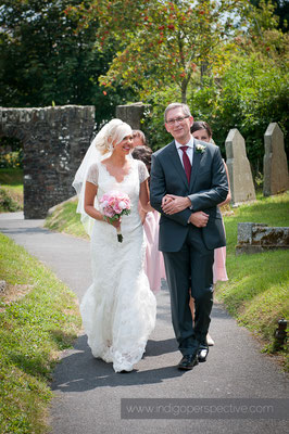 14-weirmarsh-farm-wedding-north-devon-bride-father-of-bride