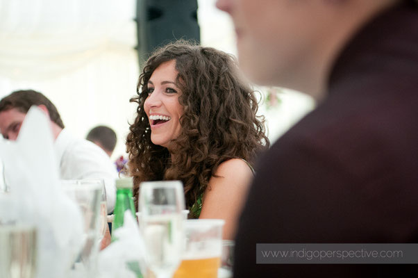 42-weirmarsh-farm-wedding-north-devon-speeches-reaction-smile