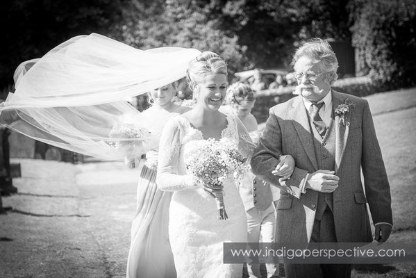 19-tipi-wedding-photography-north-devon-father-bride-entrance