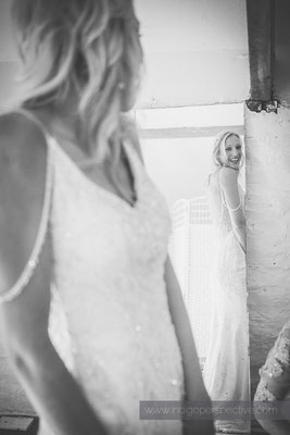 5-westcott-barton-wedding-photography-north-devon-bride-dress-mirror