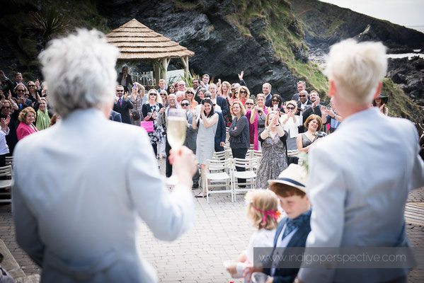 21-tunnels-beaches-same-sex-wedding-photography-north-devon-toast