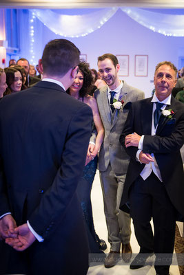 33-same-sex-wedding-north-devon-indigo-perspective-photography-walking-down-aisle-mum-dad