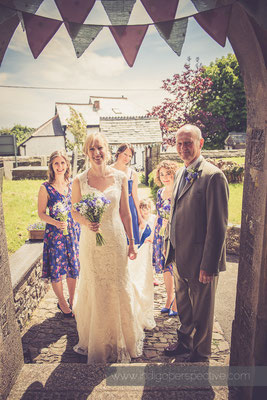 Jen & Ben Instow Wedding Day. North Devon Indigo Perspective Photography