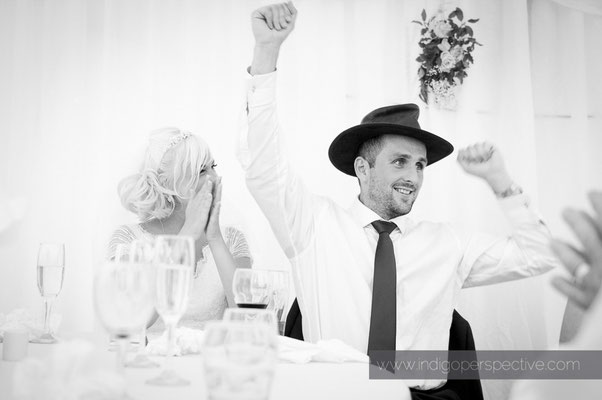 46-weirmarsh-farm-wedding-north-devon-speeches-groom-bride-smile-moment