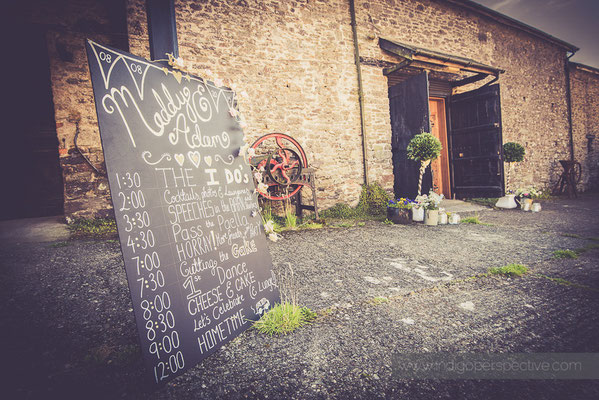 1-westcott-barton-wedding-photography-north-devon-barn-day-timings