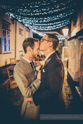 70-same-sex-wedding-north-devon-indigo-perspective-photography-night-portait-kiss-fairy-lights