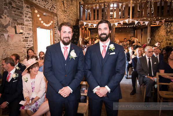 9-westcott-barton-wedding-photography-north-devon-groom-bestman-ceremony