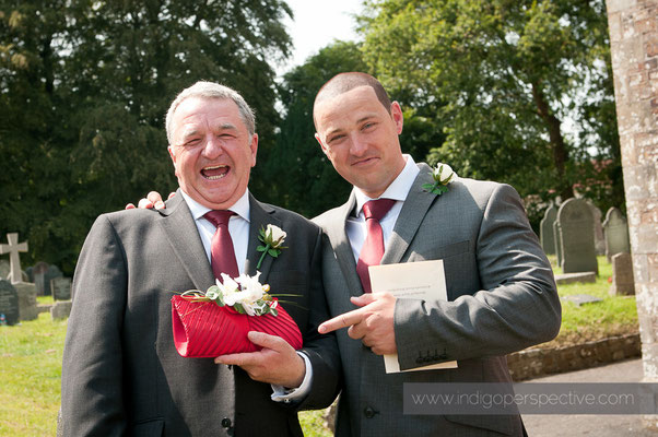 19-weirmarsh-farm-wedding-north-devon-best-man-father-handbag
